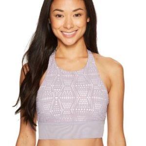 NWT Medium ALO Yoga Illuminate Purple Sports Bra
